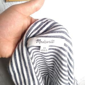 Madewell Tops - Madewell Central Striped Shirt Size XS